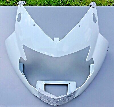BMW K1200S Upper Fairing  finished in Alpine White New - would paint