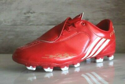ADIDAS F10.8 TRX FG Red Soccer Cleats New Tunit Style 50.8