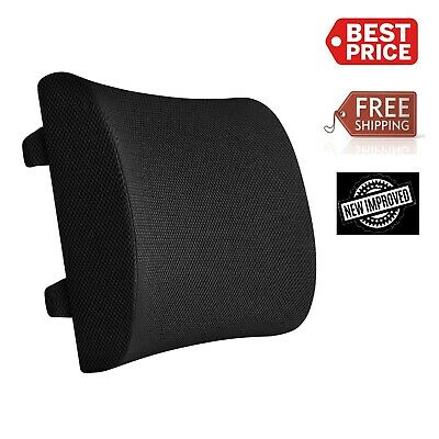 Cool Mesh Lumbar Back Support Cushion For Home Office Car Seat Posture Corrector