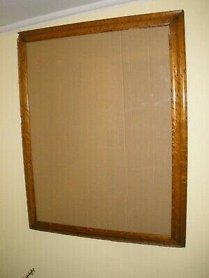 Vintage ANTIQUE Birds Eye Maple TIMBER WALL FRAME Large