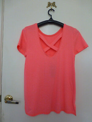 *TARGET ACTIVE* Size 10 BNWT Strap Back Tee
