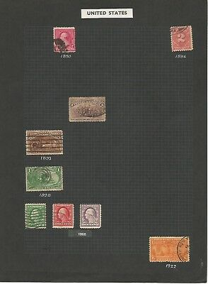 Used Stamps from U.S.A. [pre 1930s]