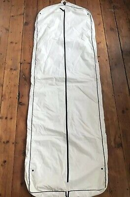 ~ CHANEL ~ dress cover white large long travel bag holiday wedding package party
