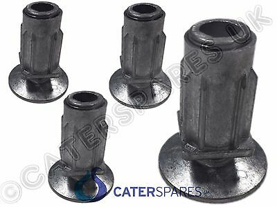 Catering Stainless Steel Table / Sink Unit Legs Replacement Adjustable Feet