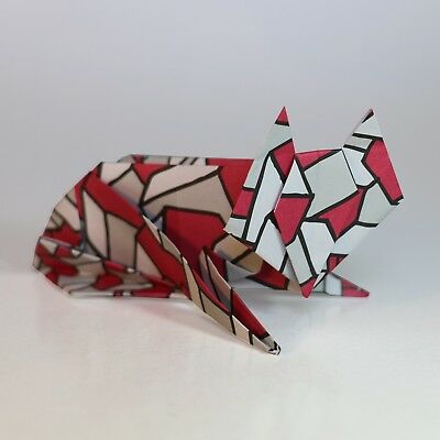 Origami Animal Modelling Kit ONE | 12 Animal Models | 100 Sheets Origami Paper
