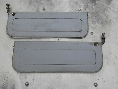 LAND ROVER SERIES 2 - SUN VISORS - SUPER RARE SERIES 2 optional extra parts