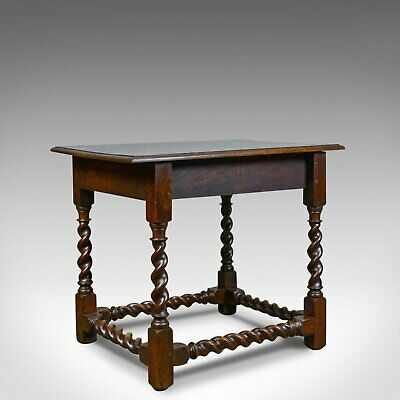 Antique Side Table, English, Victorian, English, Oak, Late C19th, Circa 1880