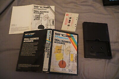 ZX Spectrum - Sinclair - Small Business Accounts - Free UK Postage