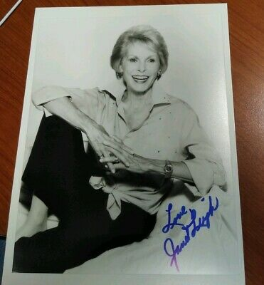 Janet Leigh Signed Photo Psycho Horror Actress