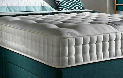 "3000 Count Pocket Sprung Mattress, 10"" Deep Firm Mattress - 3ft, 4ft, 4ft6, 5ft"