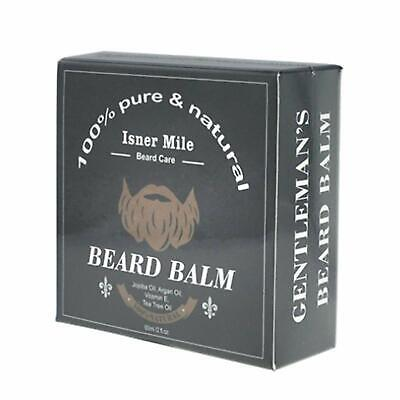 Beard Balm for Men. Medium Hold Wax for Styling Non Greasy Conditioner Stop Itch
