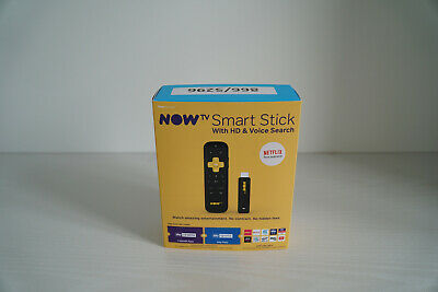 NOW TV Smart Stick with 2 Month Cinema Pass + 1 Day Sport Pass