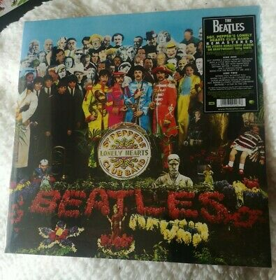 Bn & Sealed Beatles Sgt. Pepper's Lonely Heart's Club Remastered Vinyl