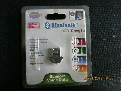 NEW Sealed USB Bluetooth Adapter Dongle