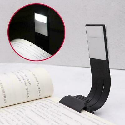 Super Magnetic USB Rechargeable LED Book Light Flexible Clip Readi On Night I3R6