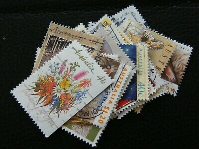 Mixed lot of 20 Australian  stamps - Used - approx years range 1990-1999
