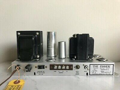 Fisher 30A mono tube amplifier