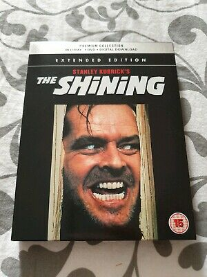 The Shining Blu-ray+DVD HMV Premium Collection Stanley Kubrick