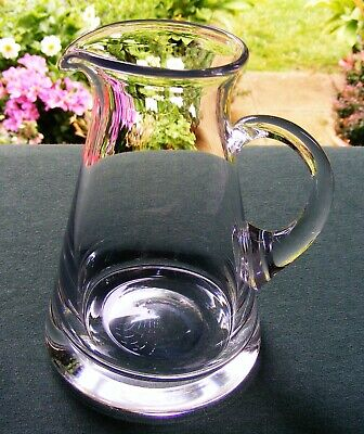 "Dartington Crystal 5 1/2"" Flat Topped Jug / Creamer"