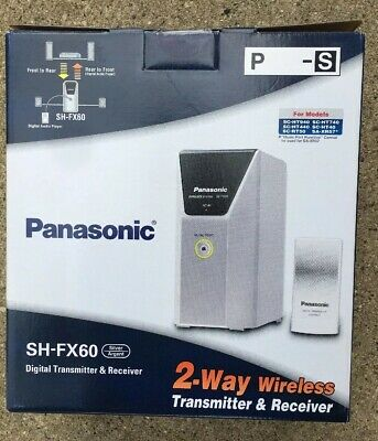 Panasonic Sh-FX60 Digital Transmitter & Receiver 2 Way Wireless