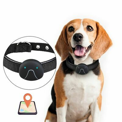 Smart Dog Collar GPS Tracker Dogs Cats Waterproof Anti-lost App USB Charging New