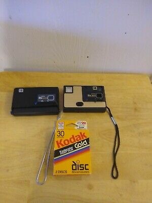 Kodak Disc 6000 and Disc 3100 with BRAND NEW FILM