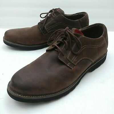DUNHAM by New Balance RevLite Waterproof Mens Brown Oxfords Shoes Size 15D