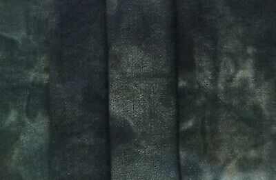 """""""Cat Hollow"""" dyed rug hooking wool fabric - (1) Fat Quarter 100% Wool"""