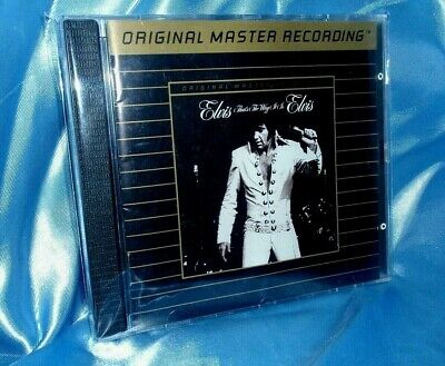 Rare Elvis' That's The Way It Is- MFSL 24-k-GOLD CD.! Ultradisc II Best Master!