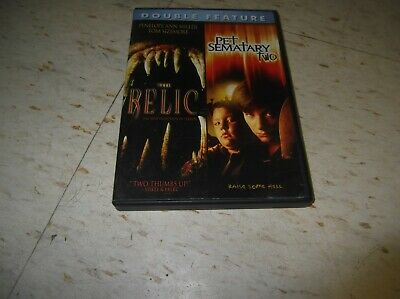 The Relic/Pet Sematary Two (DVD) Clancy Brown Edward Furlong monster 90s horror