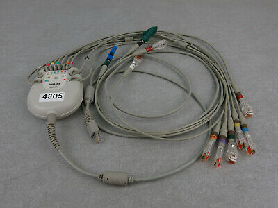 Philips PageWriter Trim 3 Patient Acquisition Module Cable Leads 989803148831