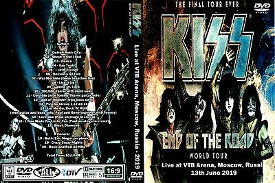 Kiss - End Of The Road - DVD - Moscow
