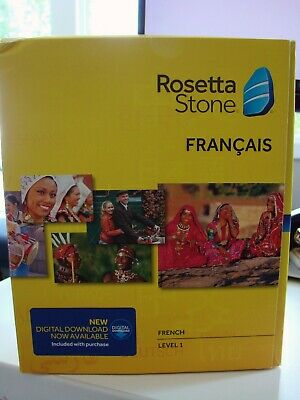 Rosetta Stone LEARN  FRENCH  LEVEL 1  TOTALE  V4 CD SET+ DIGITAL DOWNLOAD