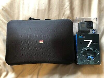 GoPro HERO7 Black With Many Accessories and 128g Sandisk Memory Card (Pristine )