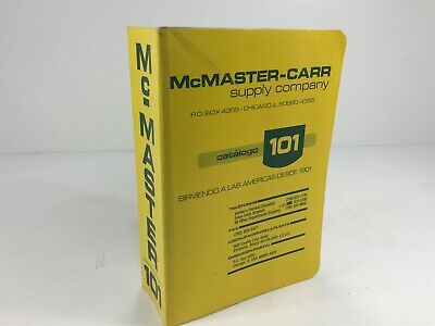 McMaster-Carr Supply Company Catalog Number 101 Chicago, IL 1995 SPANISH