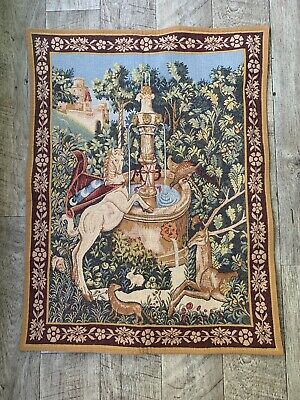 Vintage POINT DES MEURINS Tapestry 5235 MADE IN FRANCE 92x72 cm