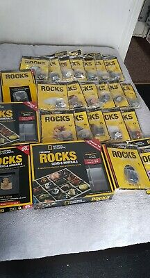 National Geographic Precious Rocks Gems Minerals Issue 1-44