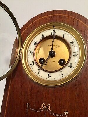 Antique - Fattorini & Sons of Bradford Wooden Bracket Clock
