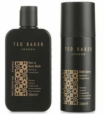 Ted Baker London Refined & Invigorating Body Wash & Spray See Description