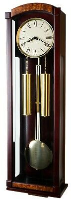 """39"""" Deluxe Solid Wood Cherry Pendulum Clock with Westminster 4*4 Chime -P00048"""