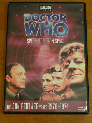 Doctor Who SPEARHEAD FROM SPACE No. 51 DVD 2001 Jon Pertwee R1