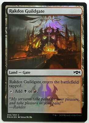 4x FOIL Golgari Guildgate 249 Near Mint Magic pauper dual land Guilds of Ravnica