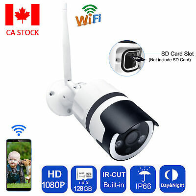 JOOAN Smart Home HD 1080P Outdoor WiFi IP Wireless Security Camera System Night