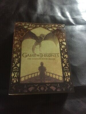 Game of Thrones Complete 5th and 6th season. In excellent condition...10 discs!!