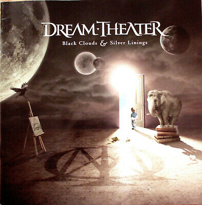Dream Theater: Black Clouds & Silver Linings World Tour Program 2009-2010