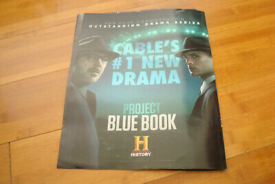 PROJECT BLUE BOOK 2019 Emmy ad & GAME OF THRONES THE FINAL SEASON Peter Dinklage