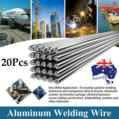 50PC Low Temperature Aluminum Welding Wire Flux Cored 2*500mm Soldering Rod N8N2