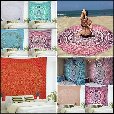 Mandala Wall Tapestry Wall Hanging Ombre Tapestry Tapestry Ombre Bedding