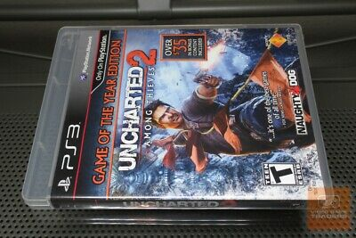 Uncharted 2: Among Thieves GOTY (PlayStation 3, PS3 2010) COMPLETE! - EX!