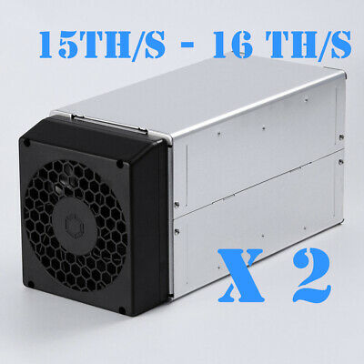 Avalon 741 X 2 15-16TH Bitcoin Miner (Quieter Than Antminer S9 S7)
